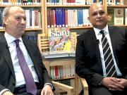 Dr Daftary & Professor Hirji in interview