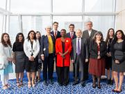 Leadership and faculty from theIIS and SOAS with students of the graduate programmes.